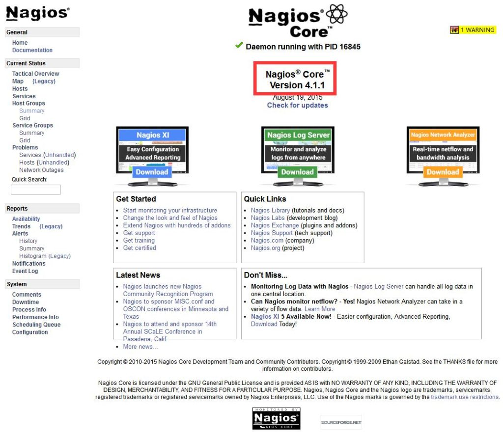 Centos下Nagios 3.x upgrade to 4.x 升级